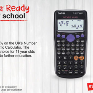 100% READY FOR SCHOOL WITH STAPLES